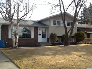 3 bdrm St. Albert House for rent available April 1, 2019