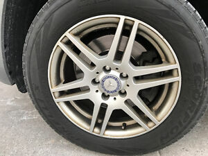 Mercedes GLK Winter Tires & rims