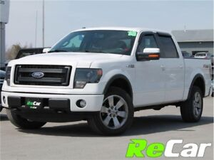 2013 Ford F-150 FX4 | 5.0L | CREW | HEATED/COOLED LEATHER