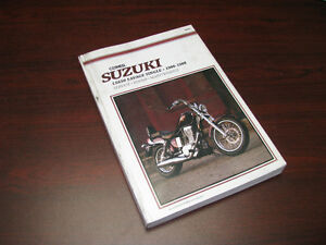 Shop Manual Clymer Suzuki Savage LS650 1986 - 1988