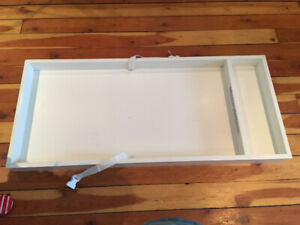 Pottery Barn Kids baby change table topper