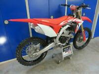 Honda CRF 250 2019 only 32 hours from new UK bike