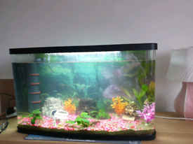 90 L Aquarium/ Fish tank complete set