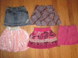 Girls Size 6 Skirts - LOT 2