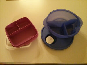 Tupperware - divided containers Prince George British Columbia image 1