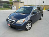 2005 Honda Odyssey EXL, Leather,Sunroof, Up to 3 years warranty.