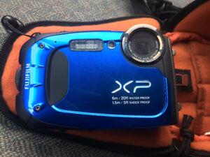 Waterproof Fuji 16 meg camera