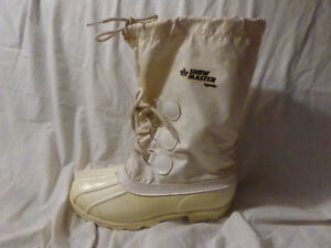 Kamik Snow Master Boots, White, Steel Shank, Felt Liners