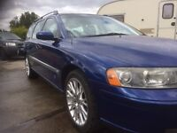 Volvo v70 spares or repairs.