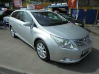 2009 09 TOYOTA AVENSIS 2.2 TR D-CAT ESTATE AUTO IN SILVER # DEMO AND ONE OWNER #