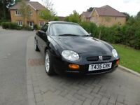 MGF 75th anniversary edition with hardtop
