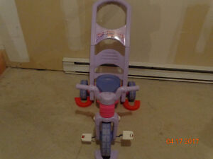 Tricycle Rock Roll & Ride XL purple & pink