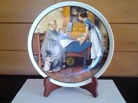 Mother's Day collectible plate