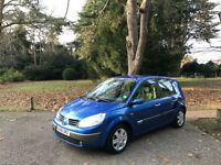 2006 Renault Scenic 1.6 VVT ( 111bhp ) Dynamique 5 Door MPV Blue