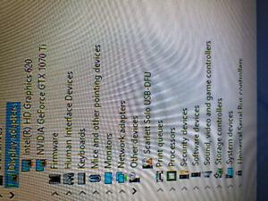 Nvidia GeForce GTX 1070 Ti  with Razer Core X