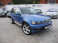BMW X5 4.6is Auto, Sat Nav with TV, Full Leather, 2x Keys, 12M MOT, HPI Clear