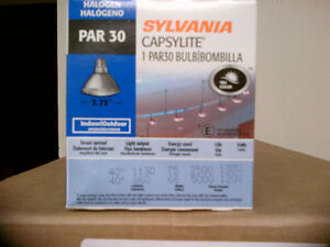 Sylvania Halogen Par 30 Light Bulbs - 75Watt