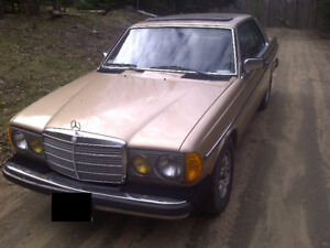 W123 300CD Turbo Diesel Coupe - MUST GO!!! Make an offer.
