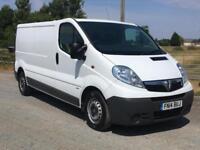 14 Vauxhall Vivaro 2900 CDTI LWB Long Wheel Base, 1owner FSH