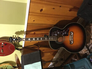 Guitare ephiphone EJ-200/VR