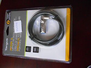 Targus Defcon CL Laptop/Netbook Cable Lock-NEW