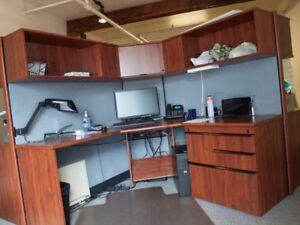 5 desk office furniture module (cubicles) for sale in Halifax
