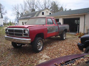 1993 Dodge Power Ram 2500 le Pickup Truck
