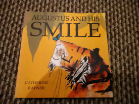 Augustus And His Smile Tiger Book By Catherine Rayner