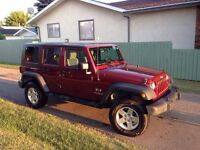 2007 Jeep Wrangler Unlimited X ONLY 96,000 KMS