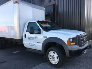 2005 Ford F-550 CUB VAN - Price Reduced