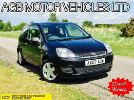 ** FORD FIESTA 1.25 2007 STYLE CLIMATE ZETEC OPTIONS AND WHEELS AUX INPUT **