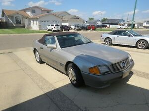 FROM CALIFORNIA - 1993 MERCEDES BENZ 300 ROADSTER CONVERTABLE