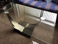 Quality glass table.