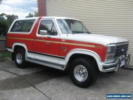 Wanted WANTED Ford Bronco XLT 351ci