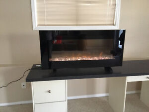 """Absolutely beautiful 43"""" Electric Fireplace"""