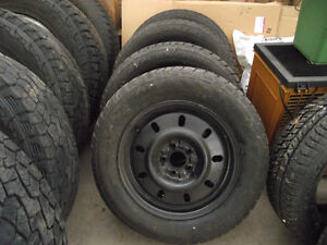 4- 16'' Avalanche Winter Extreme Tires on Rims