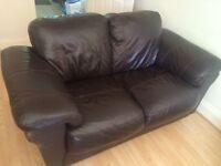 2 matching 2 seater sofas