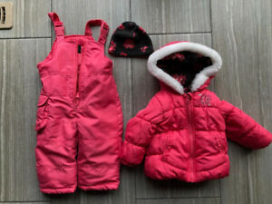 FOG Winter Coat and Snow Pants Size 12M