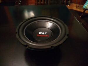 12 inch 1600 watt subwoofer dual channel with 2000W mono Amp