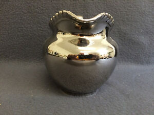 "Collectible Antique Gray's Pottery 5"" Milk Pitcher London Ontario image 2"