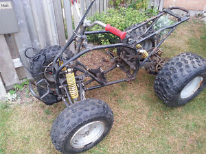 Small 100cc pit bike and quad frame