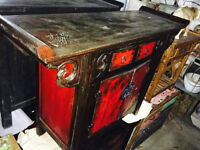 Indonesie - Commode Armoire bois teck - 650$