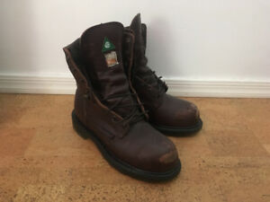 Red Wing Steel Toed boots, size 7