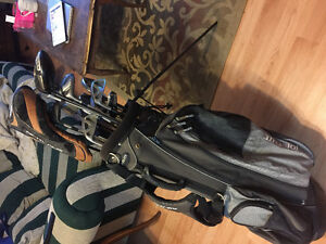 Used LH clubs (includes bag)