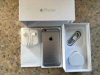 APPLE iPhone 6 16GB SPACE GERY UNLOCKED BOXED