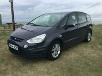 Ford S-Max Zetec TDCI 6 speed 7 seater 1 owner 78983 miles low tax 2x keys