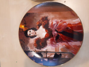Gone with the wind 50th anniversary plates