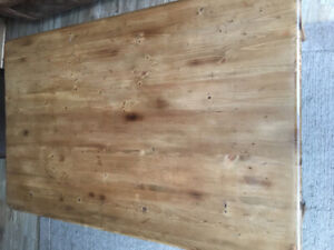 Extra Large Pine Coffee Table