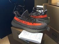 Adidas Yeezy Boost 350 V2 UK 9 with original receipt