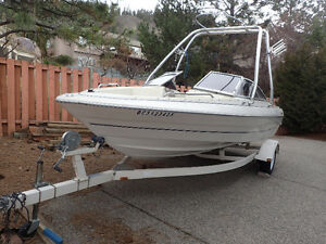 Gorgeous 19.5 ft  Bayliner Bowrider